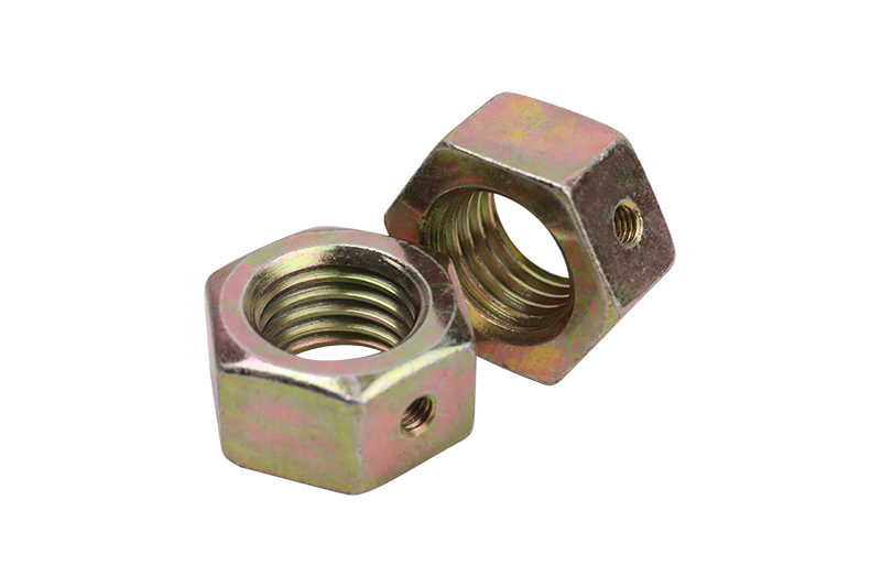 Hex Nut with Hole